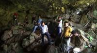 Penampakan Goa yang Diduga Jadi Sarang Ular Sanca Pemangsa Manusia