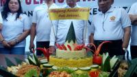 Tumpeng Warga Solo untuk Jokowi yang Ultah Ke-57