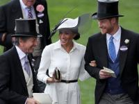 Perdana di Royal Ascot, Penampilan Sempurna Meghan Markle Kembali Langgar Aturan Kerajaan