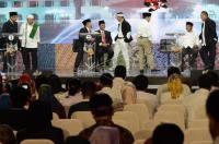 Debat Publik Pilgub Jabar Ditutup Saling Puji Sesama Paslon