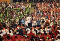 15 Ribu Massa Banjiri Halalbihalal Pemkot Makassar