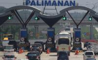 Arus Balik 2018, Jumlah Kendaraan yang Melintasi Gerbang Tol Palimanan Terus Menurun