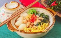 Murah & Praktis Makan Siang dengan Mi Kangkung & Mi Udang, Sontek Resepnya