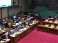 Sri Mulyani Rapat Bahas LKPP 2017, Banyak Bangku Kosong di Komisi XI