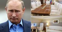 Begini Tampilan Interior Mewah Jet Pribadi Vladimir Putin Senilai Rp6,5 Triliun