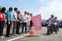 Honda Adu Kemampuan Instruktur Safety Riding Seluruh Indonesia