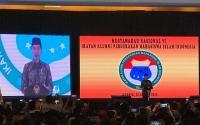 Jokowi Singgung JOIN di Pembukaan Munas VI IKA PMII