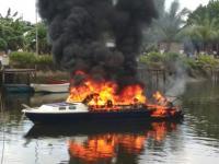 Speedboat Setda Raja Ampat Meledak, 2 Orang Terluka Bakar