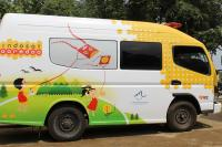 Indosat Ooredoo Sediakan Mobil Klinik Bantu Korban Gempa Lombok