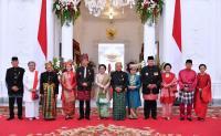 Melihat Tampilan Ibu Negara saat Upacara Kemerdekaan di Istana Negara Tahun 2017