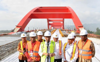 Mengintip Jembatan Holtekamp yang Segera Rampung, Jayapura ke Skouw 1 Jam