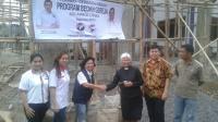 Berbagi Kasih, Gerkindo Bedah Dua Gereja di Minahasa