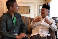 Ma'ruf Amin: Jokowi Tak Pernah Bicara ke Saya, Bahkan Isyarat pun <i>Enggak</i> Ada