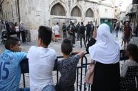 Pasukan Israel Usir Jamaah yang Hendak Salat di Masjid Al-Aqsa