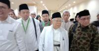 KH. Maruf Amin Hadiri Silaturahmi NU Sedunia di Makkah