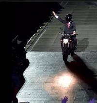 Siapa yang Menerbangkan Motor saat Pembukaan Asian Games? Ini Jawaban Jokowi