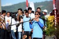 Bersih-Bersih Sampah di Pantai, Menteri Susi: Terima Kasih