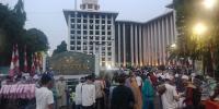 Jamaah Mulai Padati Masjid Istiqlal untuk Salat Idul Adha 1439 Hijriah