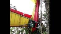 Hendak Mendarat, Pesawat Latih Erik Soekamti Terjatuh di Gunungkidul