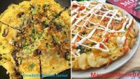 Rekomendasi Menu Sarapan Sehat dan Bergizi, Omelette Brokoli Jamur dan Macaroni Omelette