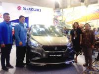 Tak Muluk, Suzuki Targetkan Penjualan 350 Unit di Giias Surabaya