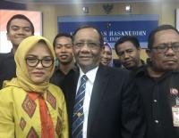 Kuliah Umum di Unhas, Mahfud MD: Terima Kasih Bu Rektor
