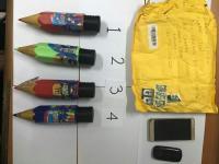 Sabu dari Uganda Diselundupkan ke Indonesia dalam Pensil Berwarna