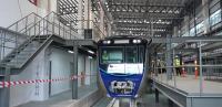 Vandalisme Kembali Terjadi, Pelaku Coret Gerbong Kereta MRT di Lebak Bulus