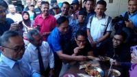 Pasca Penetapan Nomor Urut, Sandiaga Blusukan di Kampung Halaman Jokowi