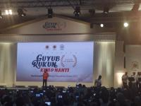Canda Jokowi Usai Nonton Elek Yo Band di Reuni Alumni UGM: Saya Sampai Mules