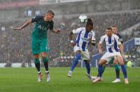 Spurs Unggul 1-0 atas Brighton pada Babak Pertama
