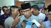 Sandiaga Minta Pemilih Contoh Jokowi-Prabowo yang Berpelukan