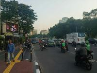 Sore Ini, Lalin Sekitaran Jakarta Pusat Macet