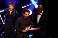 Salah, Deschamps, dan Courtois Sabet Penghargaan FIFA The Best Awards 2018