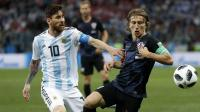 Modric: Saya Takkan Pernah Main Bersama Messi
