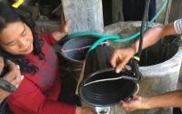 Air Sumur Warga Mojokerto Diduga Tercemar BBM