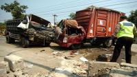 Kecelakaan Beruntun di Jalur Pantura Tegal, 2 Tewas & 3 Luka-Luka