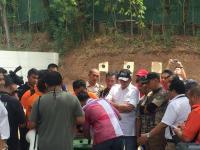 Bambang Soesatyo Hadiri Reka Ulang Peluru <i>Nyasar</i> ke Gedung DPR