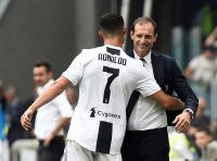 Allegri Pastikan Ronaldo Diturunkan di Laga Kontra Genoa