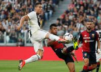 Gol Ronaldo Bawa Juventus Ungguli Genoa 1-0 di Babak Pertama