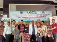 MNC Peduli Gelar Operasi Katarak ke 60 Pasien di Kabupaten Malang
