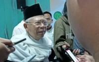 Caleg PAN Tolak Kampanye Prabowo-Sandi, Ma'ruf: Itu Patut Jadi Contoh