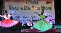 Tiba di Semarang, Kirab Satu Negeri Didoakan Tokoh Lintas Agama