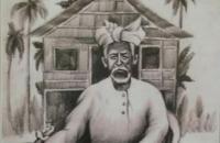 Cicit Depati Amir Serahkan Plakat Pahlawan Nasional