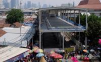 Pemprov DKI Pastikan JPM Tanah Abang Selesai 23 November