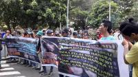 Massa Demo Minta Pedangdut Sisca Dewi Dipecat dari Hanura
