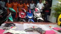 Dua Pencuri Motor Bersenpi Ambruk Didor Polisi