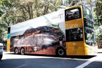 Keren, <i>Branding</i> Wonderful Indonesia <i>Mejeng</i> di Bus <i>Double Decker</i> Australia