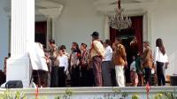 Terima Seniman ke Istana, Jokowi Diskusi Tentang Strategi Kebudayaan