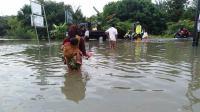 Banjir Parah Kepung Pekanbaru, Ratusan Warga Mengungsi